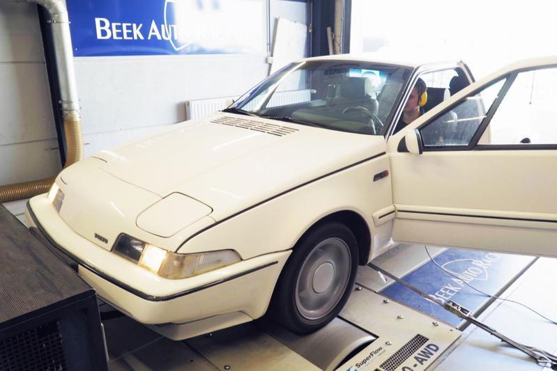 Volvo 480 GT - Op de Rollenbank