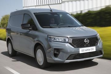 Nissan Townstar onthuld: benzine- of elektrokracht