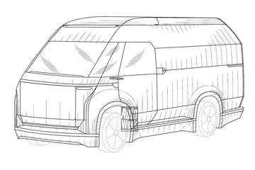 Faraday Future's bedrijfswagen in beeld