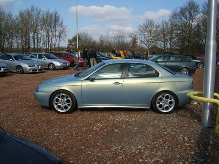 Alfa Romeo 156 2.0 JTS 16V Distinctive (2002)