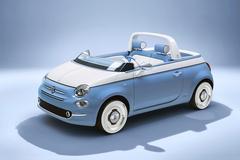 Dubbel eerbetoon aan Fiat 500 Jolly 'Spiaggina'