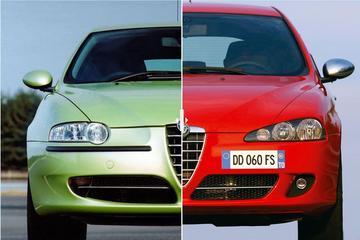 Facelift Friday: Alfa Romeo 147
