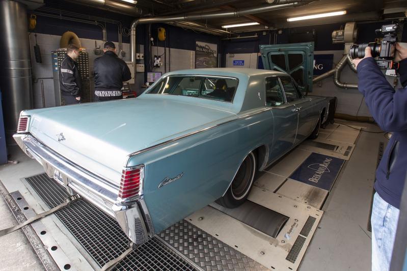 Lincoln Continental - Op de Rollenbank