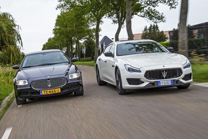 Maserati Quattroporte - Oud en Nieuw