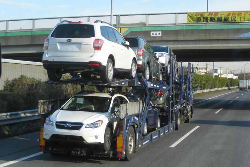 Subaru transport Gunma Japan
