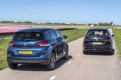 Renault Scénic - Volkswagen Golf Sportsvan