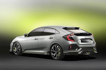 Honda Civic Hatchback Protoype is los