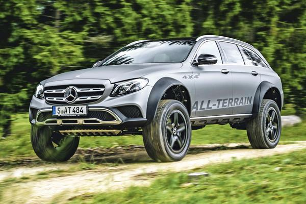 Rij-impressie: Mercedes-Benz E 400 All-Terrain 4x4