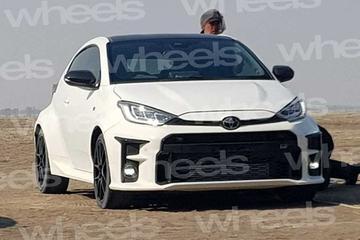 Gesnapt: Toyota Yaris in sportpak