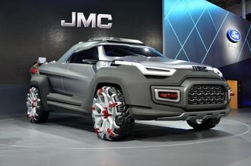 JMC Tiger: monsterlijke pick-up