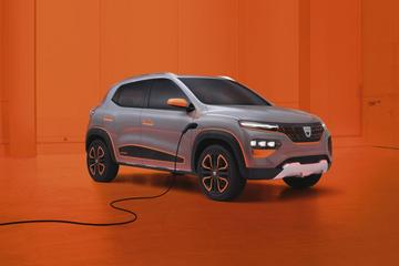 Dít is de elektrische Dacia Spring Electric Concept!