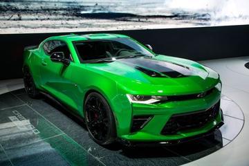 Chevrolet Camaro Track Concept is los
