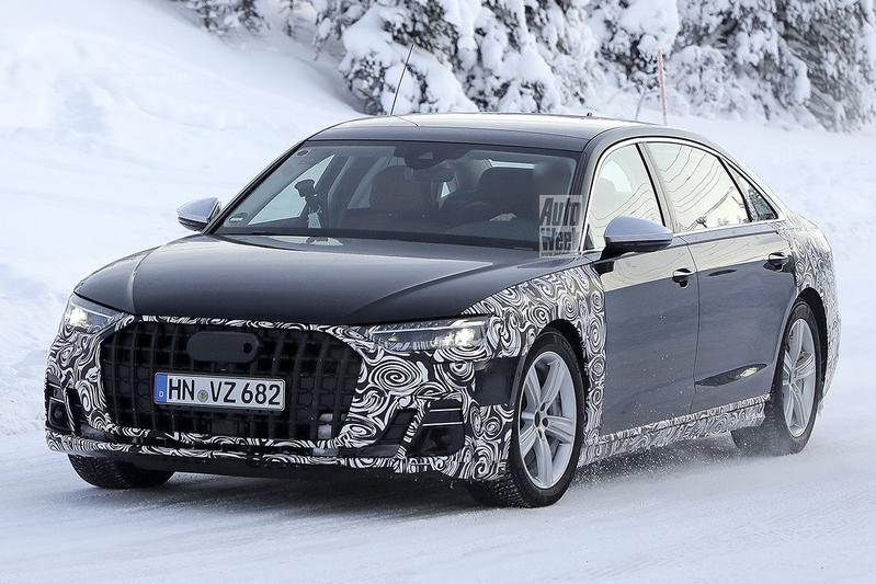 Spyshots Audi A8 LWB Horch