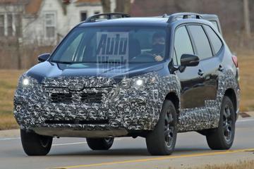 Subaru Forester wordt gefacelift