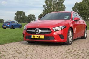 Mercedes A-klasse vs. BMW 1-serie - Dubbeltest