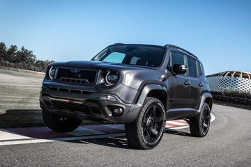 Opgedirkte Jeep Renegade van Militem Hero