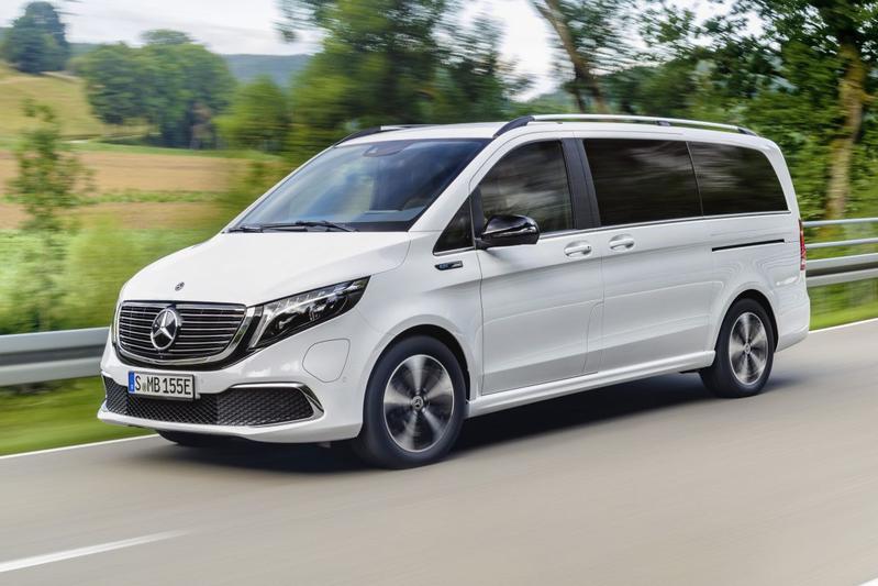 Mercedes-Benz EQV - Eerste rijtest