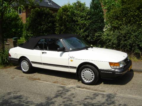 saab 900 turbo 16 cabrio 1988. Black Bedroom Furniture Sets. Home Design Ideas