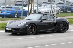 Gesnapt: Porsche 718 Boxster Spyder