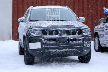 Gefacelifte Jeep Compass in Europa