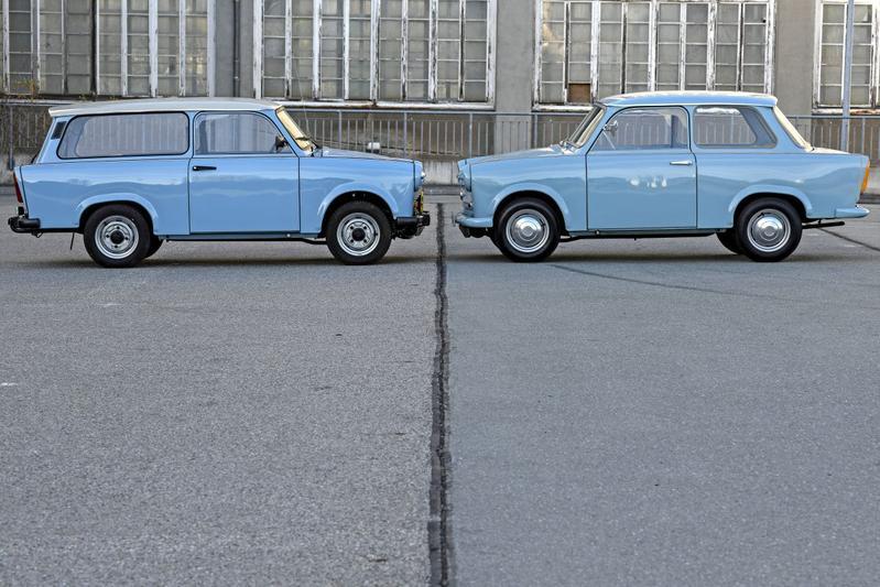 Vroege en late Trabant P601 - Reportage