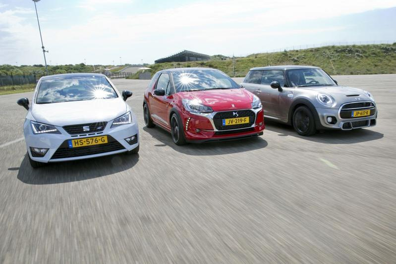 DS 3 Persformance vs. Mini Cooper vs. Seat Ibiza Cupra