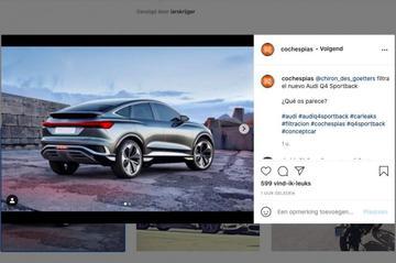 Gelekt: Audi Q4 Sportback e-tron Concept