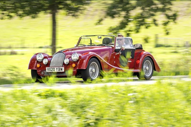 Morgan Plus Four - Eerste rijtest