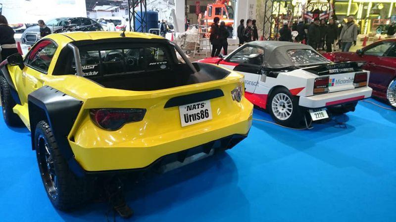 NATS Tokyo Auto Salon Urus 86