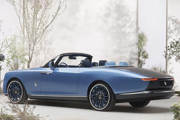 Rolls-Royce presenteert 'Boat Tail'