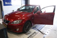 Lexus IS250 - Op de Rollenbank
