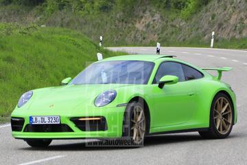 Mysterieuze Porsche 911 gesnapt