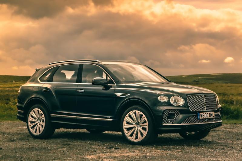 Bentley Bentayga Four Seat Comfort Specification