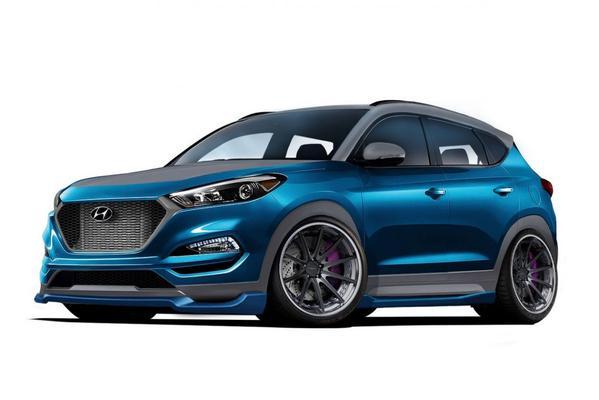 Hyundai Tucson Sport Concept klaar voor SEMA