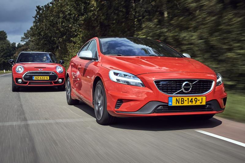 Mini Clubman Cooper S vs. Volvo V40 T4 Business Sport