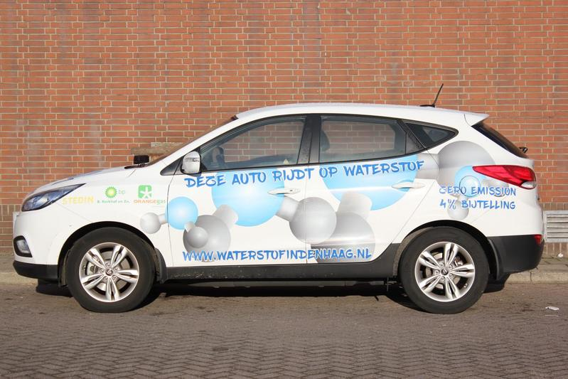 Waterstofauto Hyundai IX35 Den Haag
