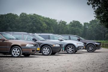 4 generaties Volvo Cross Country