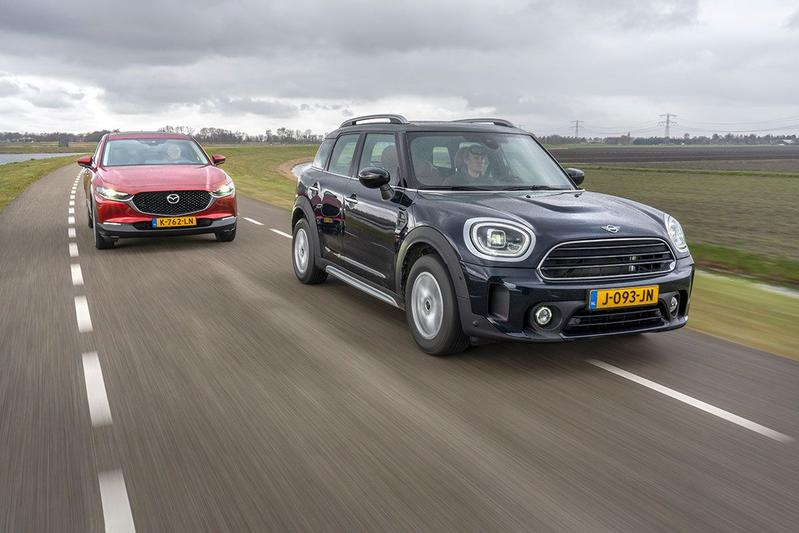 Test: Mazda CX-30 vs. Mini Countryman