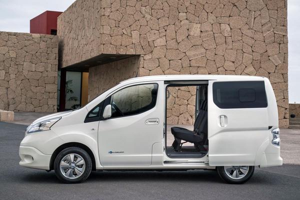 Alle prijzen vernieuwde Nissan e-NV200