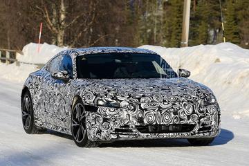 Audi E-tron GT betrapt!