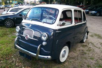 In het wild: Fiat 600 Multipla (1960)