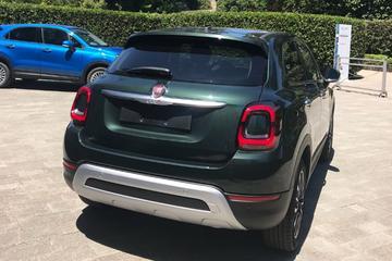 In beeld: gefacelifte Fiat 500X