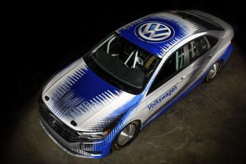 Volkswagen Jetta klaar voor Bonneville