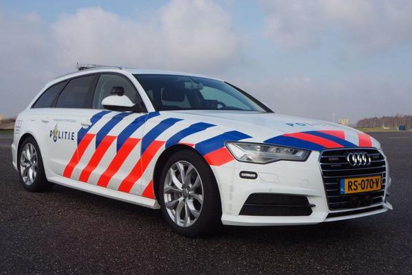 Nieuwe politie-Audi vanuit alle hoeken