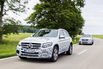 Mercedes-Benz toont GLC F-Cell nog eenmaal