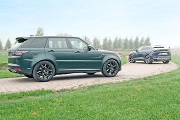 Lamborghini Urus vs. Range Rover Sport SVR - Dubbeltest
