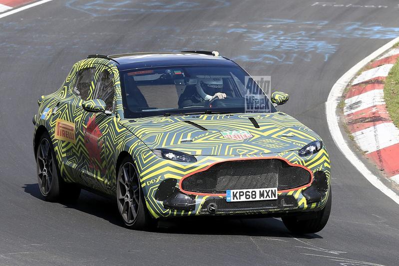 Aston Martin DBX Spyshots