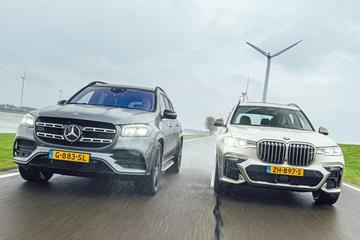 Mercedes-Benz GLS - BMW X7 - Dubbeltest