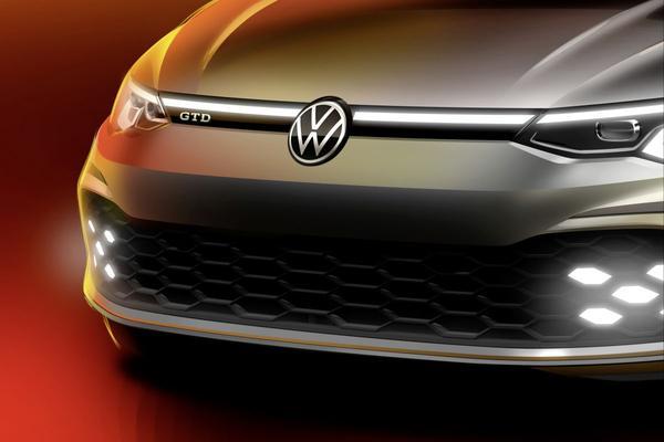 Volkswagen Golf GTD officieel aangekondigd