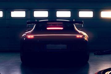 Porsche laat stukje 911 GT3 zien